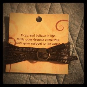 Jewelry - A wrap leather bracelet